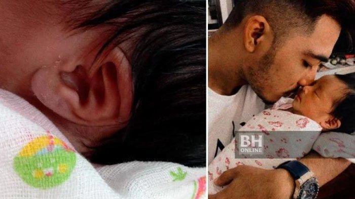 Sering Amalkan Surah Yusuf dan Maryam, Bayi dari Pasangan Ini Lahir dengan Telinga Lafaz Allah