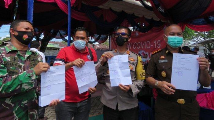 Nagan Raya Nihil Kasus Positif Covid-19, Nakes Mendapat Suntikan Vaksin Tahap II