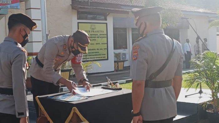 Wiji Sutrisno Kabag Logistik Polres Aceh Selatan,Rajabul Asra Kasat Reskrim, Ini Pesan Kapolres