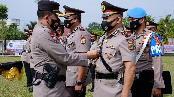 Tujuh Perwira Polres Aceh Utara Serah Terima Jabatan, Ini Nama-nama dan Jabatan Barunya