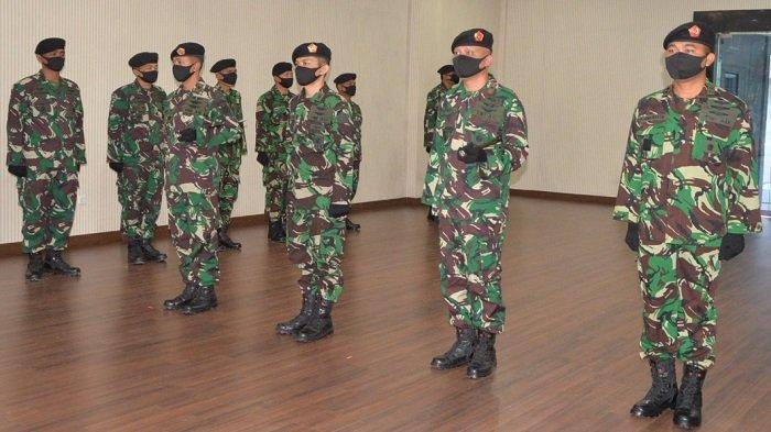 Panglima Kosekhanudnas III Sertijab Dansatrad 231 Lhokseumawe di Medan