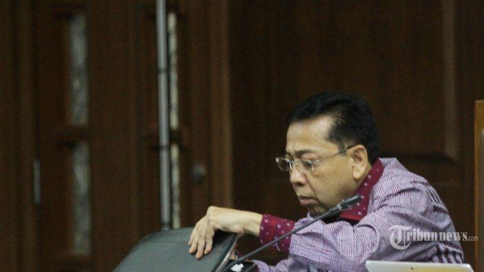 Setya Novanto Ungkap Rutinitasnya di Tahanan dari Cuci Piring Hingga Menyapu Sebelum Sidang