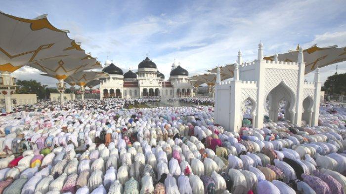 Ustaz M Abbas Lc Khatib Idul Fitri di Aceh Tenggara