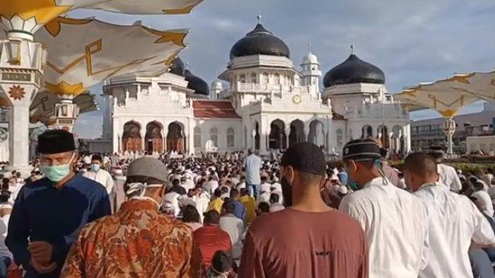 Kumpulan Video Suasana Shalat Idul Fitri 1441 H di Aceh, dari Banda Aceh, Bireuen, Hingga Singkil