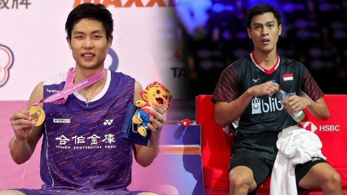 Live Streaming TVRI Babak 16 Besar Thailand Open 2021: Shesar Hiren Rhustavito Jumpa Lawan Terberat