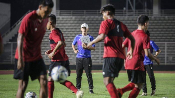 Shin Tae-yong Pimpin TC Timnas Indonesia di Jakarta