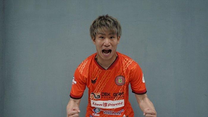 Sudah Cicipi Juara di Laos, Mongolia dan Myanmar, Shori Murata Siap Lambungkan Persiraja di Liga 1