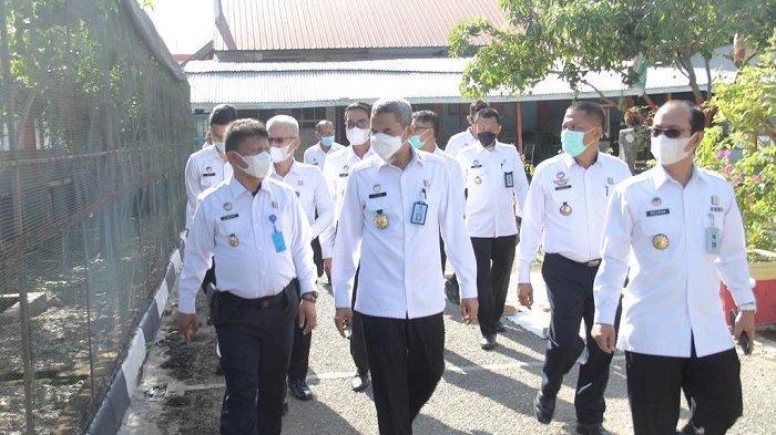 Inspeksi ke LP Banda Aceh, Irjen Kemenkumham RI Motivasi Petugas dengan Cinta dan Jangan Ada Pungli
