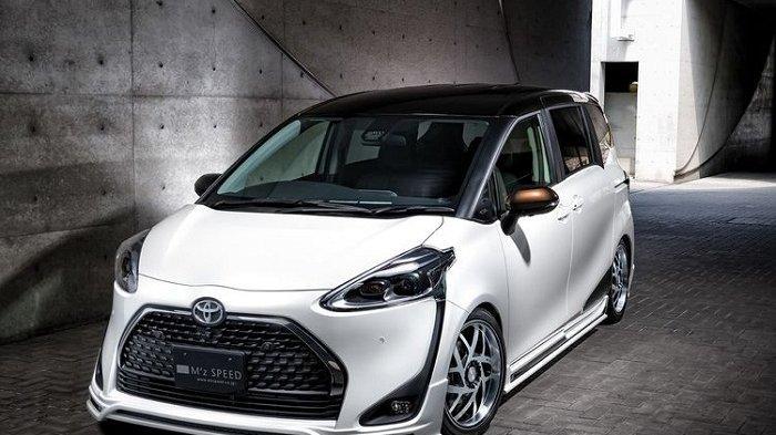 Ada Paket Toyota Sienta Tampil Lebih Agresif dan Sporty dari M'z Speed