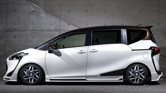 Body kit Toyota Sienta Mz Speed bagian samping