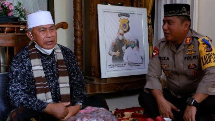 Kapolres Aceh Utara Silaturahmi ke Pimpinan Dayah Babussalam Matangkuli