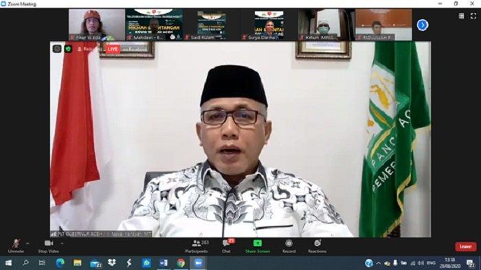 Nova Iriansyah Buka Forum Silaturrahim Hijriah Taman Iskandar Muda