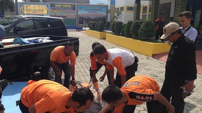BPBD Aceh Tengah Gelar Simulasi Penanggulangan Bencana