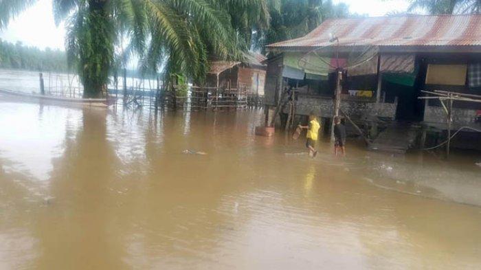 Sungai Souraya dan Lae Cinendang Meluap, Wilayah Subuluusalam dan Singkil Terendam