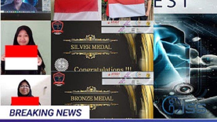 Wakili Indonesia, Dua Siswa Aceh Boyong Medali di I-FEST 2020 Tunisia