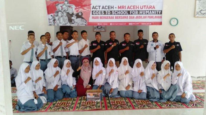 MRI-ACT Aceh Ajak Siswa SMA Peduli Bencana Asap Riau