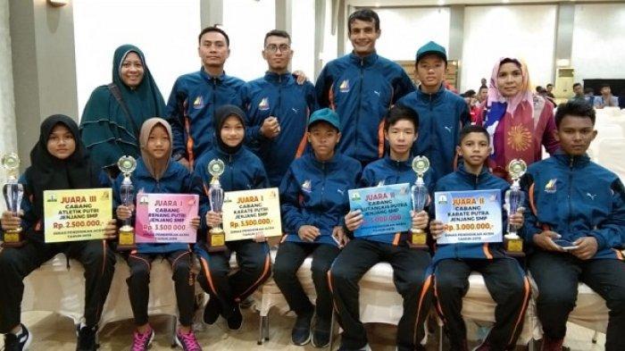 Dua Siswa Smp Banda Aceh Lolos Ke O2sn Tingkat Nasional Serambi Indonesia