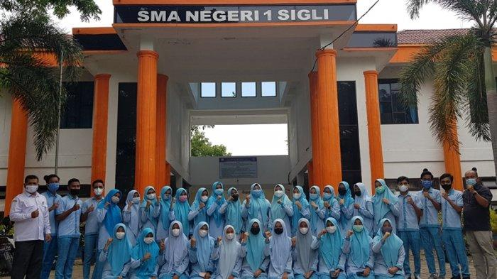 40 Lulusan SMAN 1 Sigli Lulus Usmu di Universitas Negeri, 7 di Antaranya juga Juara KSN Tingkat Aceh