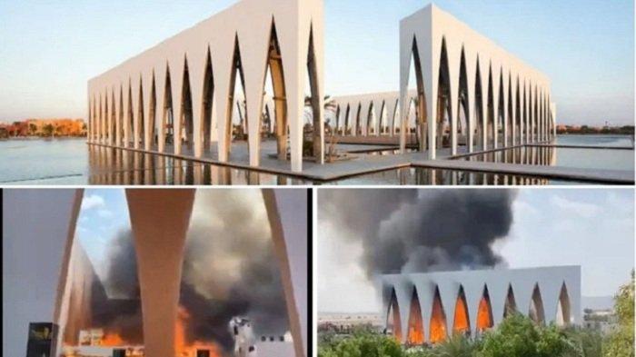 Situs Festival Film El Gouna di Mesir Terbakar