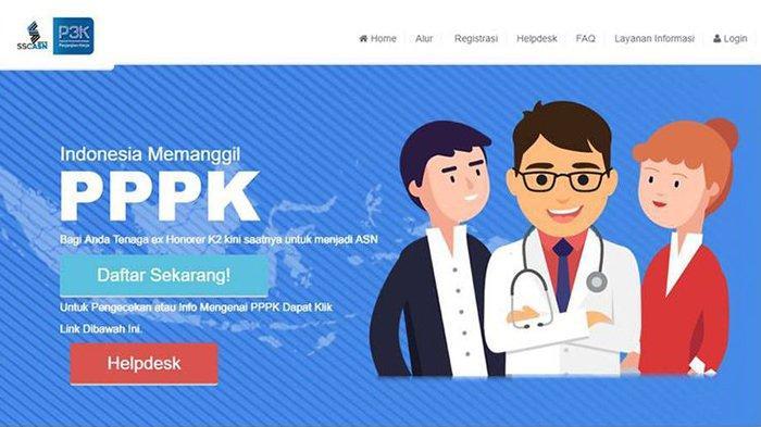 Situs Pendaftaran PPPK (P3K) 2019 ssp3k.bkn.go.id Sulit Diakses, BKN: Kemungkinan Ini Penyebabnya!