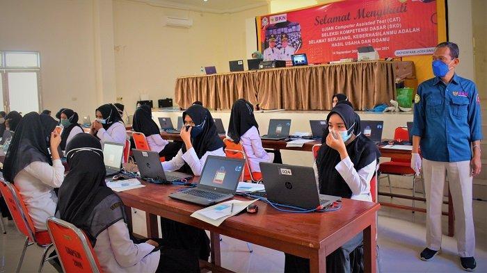 18 Peserta CPNS Aceh Barat yang Positif Covid-19 Bisa Ikut Ujian Susulan