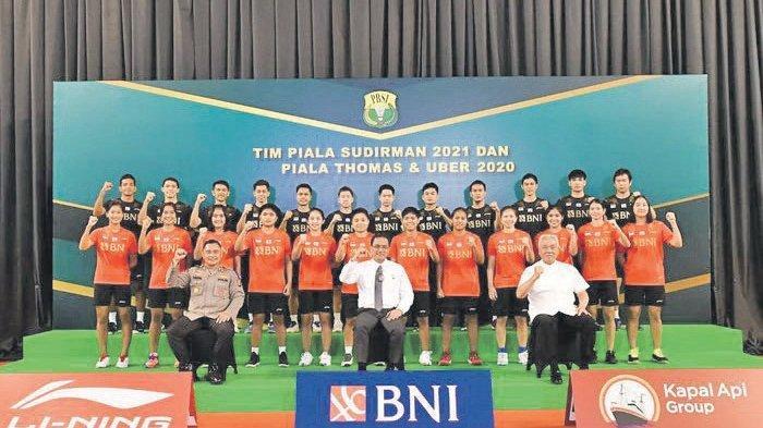 Indonesia Bersua Musuh Bebuyutan di Piala Thomas dan Jumpa Thailand di Uber Cup