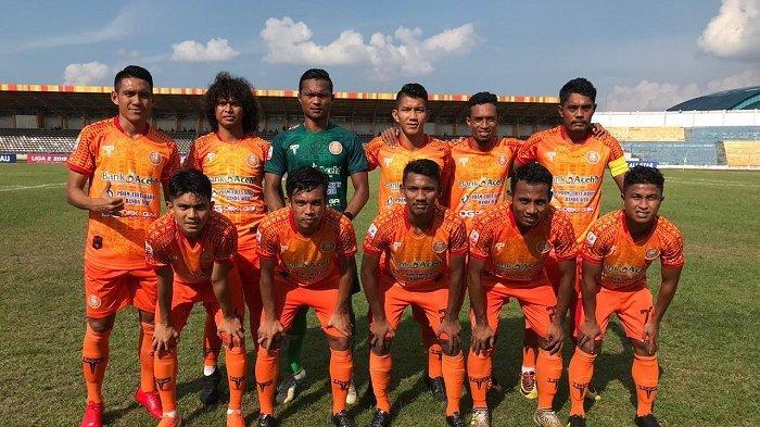Malam ini,  Persiraja Siap Gempur Cilegon United di Stadion H Dimurthala Lampineung