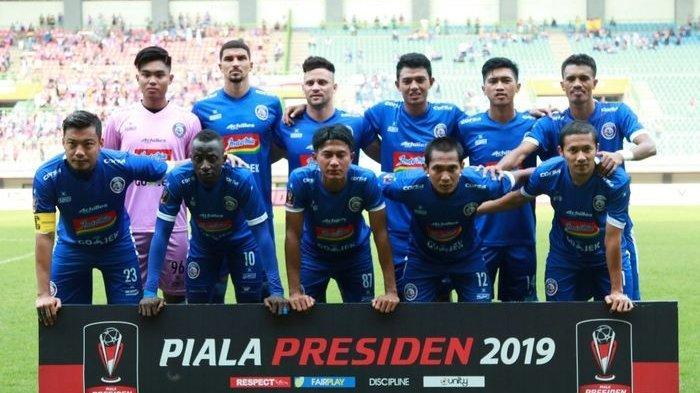 Arema FC Juara Piala Presiden 2019 Setelah Kalahkan Persebaya, Catat 4 Rekor Sekaligus