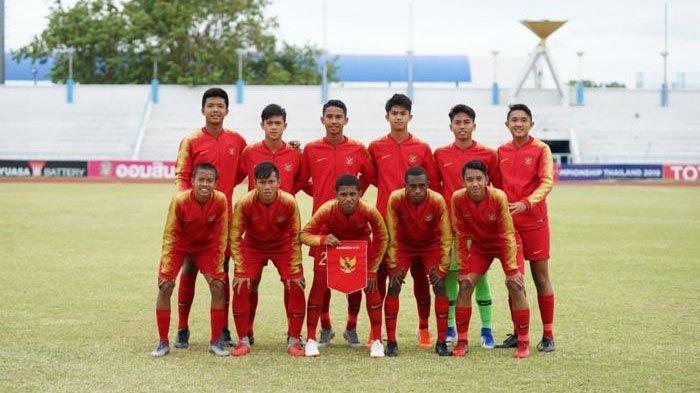 Link Live Streaming Indonesia Vs China Kualifikasi Piala Asia U16 2020, Penentu Juara Grup Malam Ini