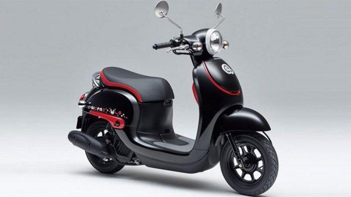 Jepang Punya Honda Lebih Bulat dari Scoopy, Namanya Giorno