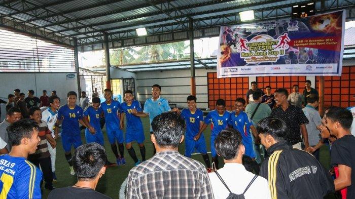 Sman 9 Banda Aceh Pertahankan Gelar Turnamen Futsal Bank Aceh Dan Universitas Terbuka Serambi Indonesia