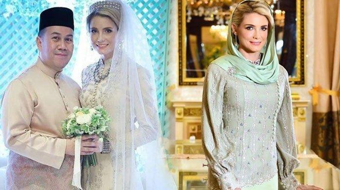 Jadi Istri Pangeran Malaysia Tengku Muhammad Faiz, Bule Swedia Ini Dicintai Ibu Mertua dan Rakyat