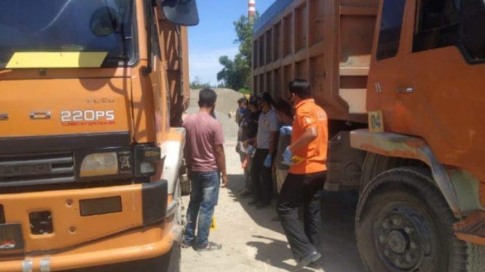 Pekerja PLTU Terjepit Truk, Samsul Meninggal, Fahrul Patah Tulang