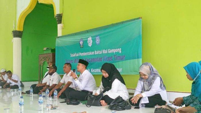 Baitul Mal Aceh Selatan Sosialisasikan Pembentukan Baitul Mal Gampong di Kluet Timur