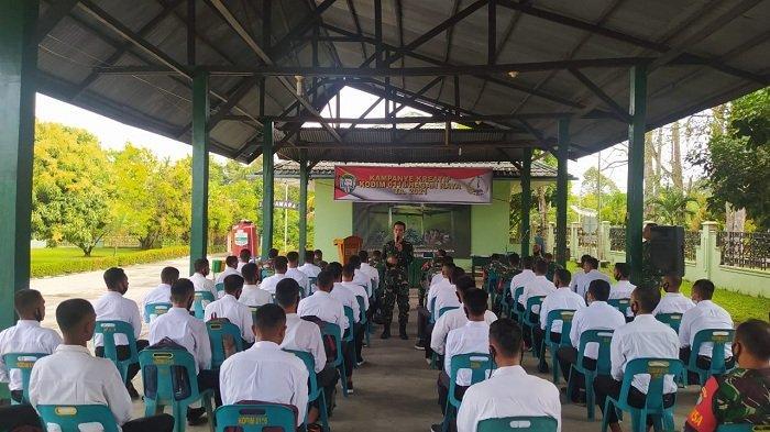 Kodim Nagan Raya Sosialisasi Penerimaan Calon Prajurit TNI AD