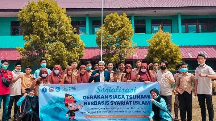 Tim PKM-PM UTU Sosialisasikan Siaga Tsunami Berbasis Syariat Islam kepada Santri MTSS Nurul Huda