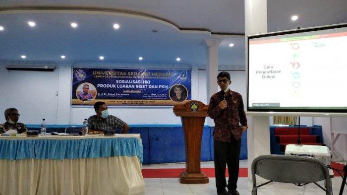 Universitas Serambi Mekkah Sosialisasi Hak Kekayaan Intelektual Bagi Dosen, Gandeng Kemenkumham Aceh