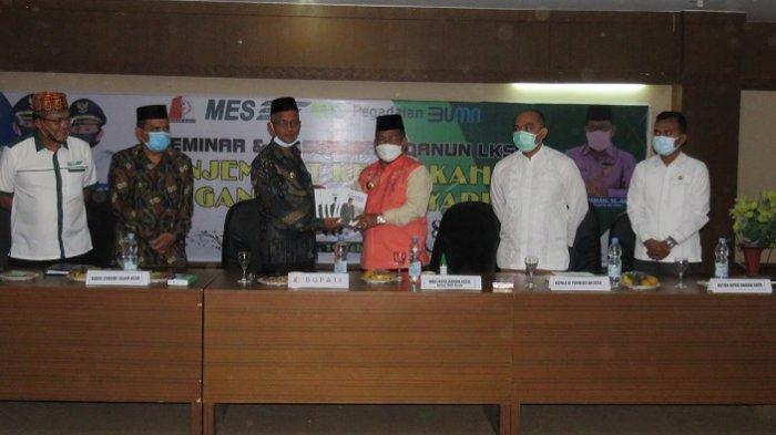 Sosialisasi Qanun LKS di Nagan, Aminullah: Sejumlah Leasing di Aceh Masih belum Beralih ke Syariah