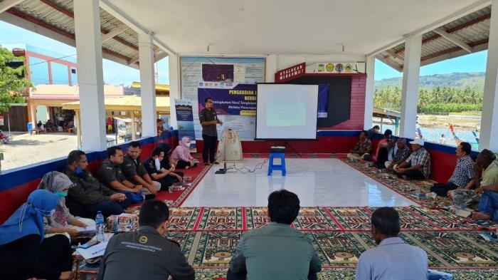 Fakultas Kelautan dan Perikanan USK Sosialisasikan Penerapan Teknologi Terumbu Buatan di Aceh Besar