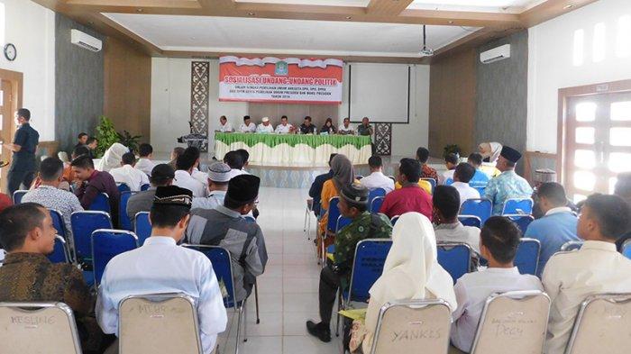 Pemkab Aceh Jaya Sosialisasikan UU Pemilu, Ini Harapan Sekda
