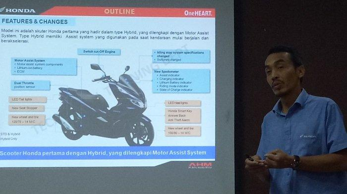 Lebih Responsif Dibandikan PCX Standar, Ini Keunggulan Teknologi All New Honda PCX Hybrid