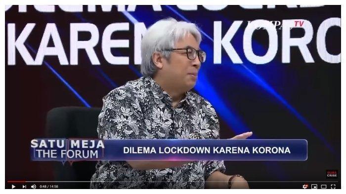Angkat Bicara Soal Wabah Corona, Imam Prasodjo Ungkap Hal Terburuk yang Bisa Dialami Indonesia