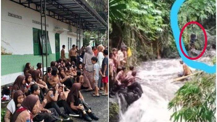 Penampakan Sosok Hitam Muncul Saat Evakuasi Siswa SMPN Turi 1, Netizen Sebut Hantu, Ini Faktanya