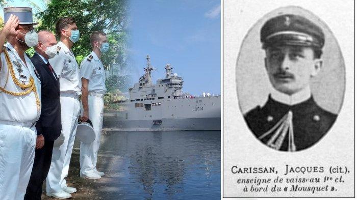 Sosok Jacques Carrisan, Pahlawan Prancis yang Dikubur di Sabang, Didatangi 2 Kapal Perang dan Dubes