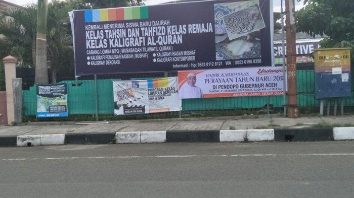 Soal Spanduk Undangan Perayaan Tahun Baru di Pendopo Gubernur Aceh, Ini Penjelasan Karo Humas