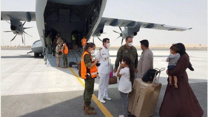Spanyol Selesaikan Evakuasi Warga dari Bandara Kabul, Afghanistan