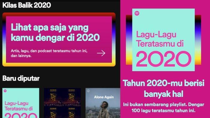 Berikut Cara Melihat Kilas Balik Spotify Wrapped 2020 dan Share ke Media Sosial Kamu Sekarang!