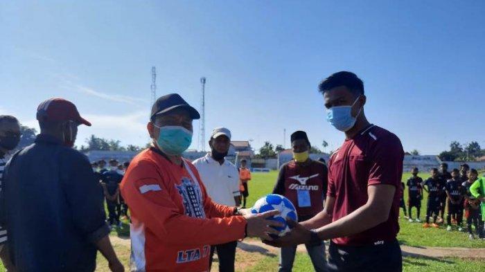 Wakil Walikota Langsa Buka Turnamen Sepak Bola Usia Dini Disporapar Yang Diikuti 9 Tim SSB