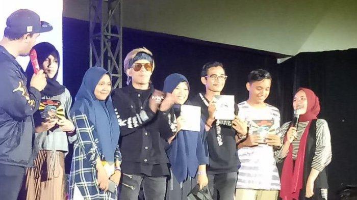 Youtuber Nomor 1 Asia Atta Halilintar Berbagi Pengalaman di Acara Aceh Creativest untuk Milenial