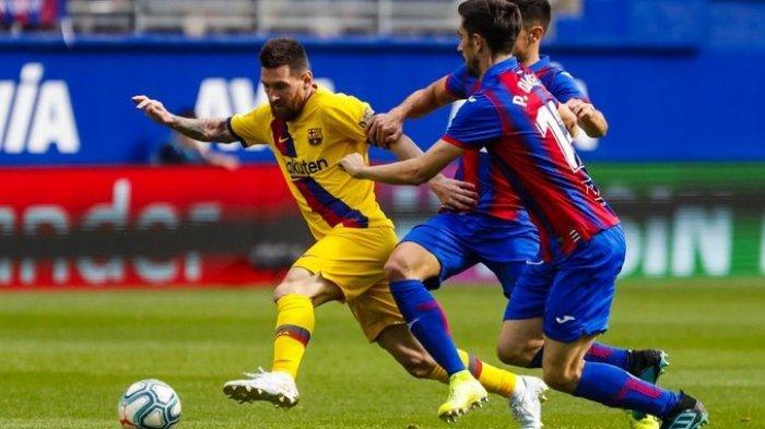 Hasil Liga Spanyol - Hantam Eibar 0-3, Barcelona Kudeta Real Madrid dari Puncak Klasemen